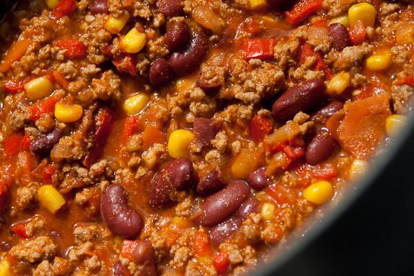 Chili con carne (ricetta USA)