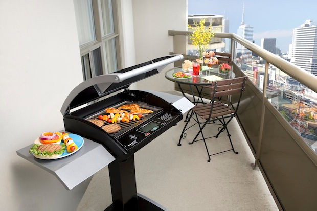 Barbecue balcone