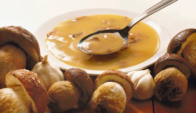 Zuppa porcini e patate
