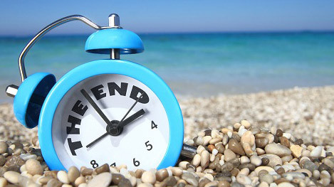 Vacanze finite