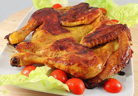 Pollo alla diavola con glassa alla senape