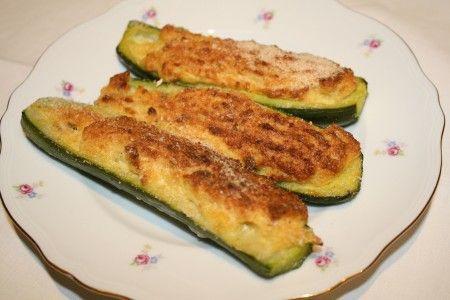 Zucchine ripiene vegetariane e non