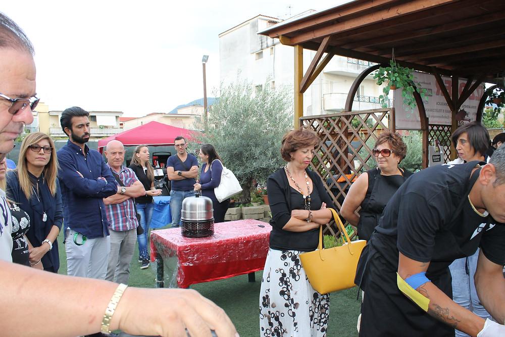 Festival del barbecue - visitatori