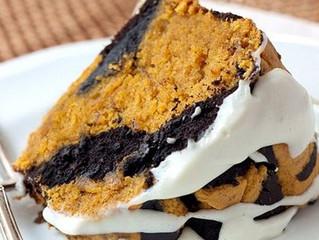 Torta di zucca e cioccolato (Halloween cake)