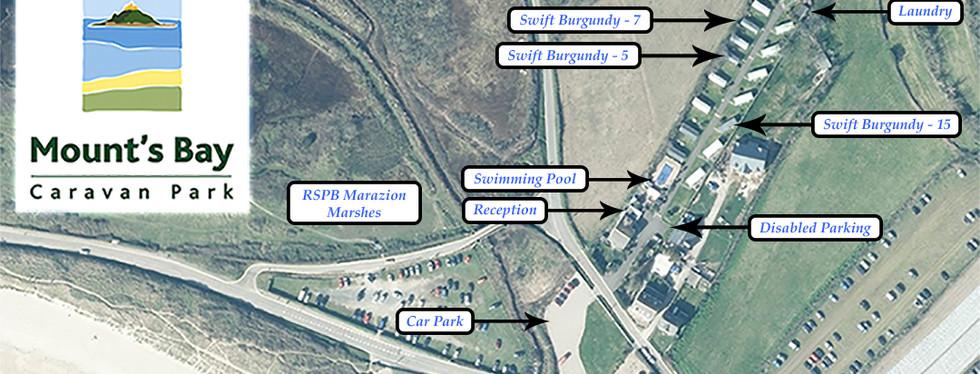 Mount's Bay Caravan Park - Map