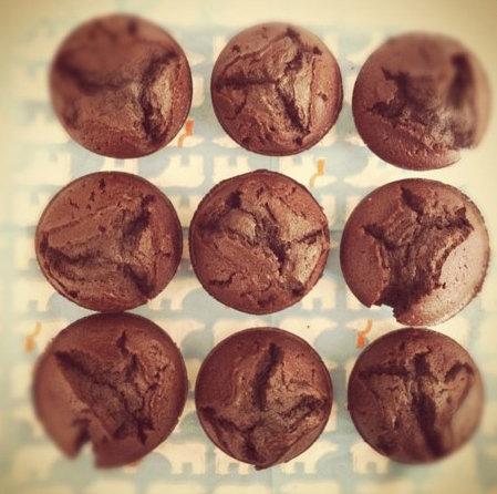 Banana Chocolate Chip Muffin