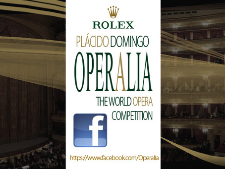 Operalia Competition has a new Fan Page in Facebook