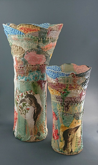 Vases sculptures