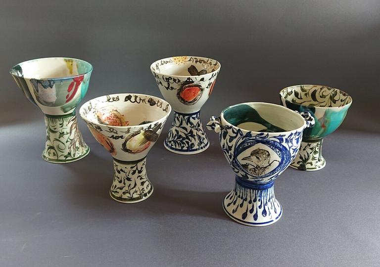 Compotiers en porcelaine