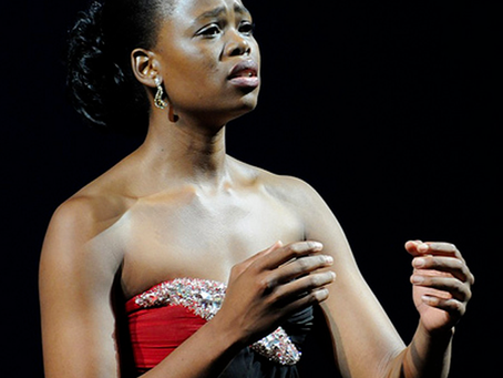 Soprano Pretty Yende sings at Central Park with Andrea Bocelli