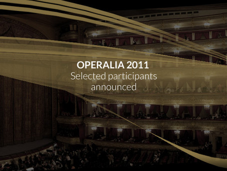 List of Operalia Competition Moscow 2011 Finalists