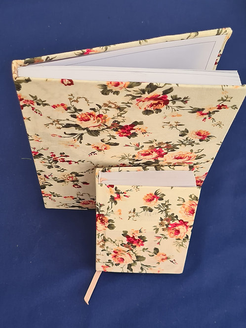 Fabric wrapped daily reflection book