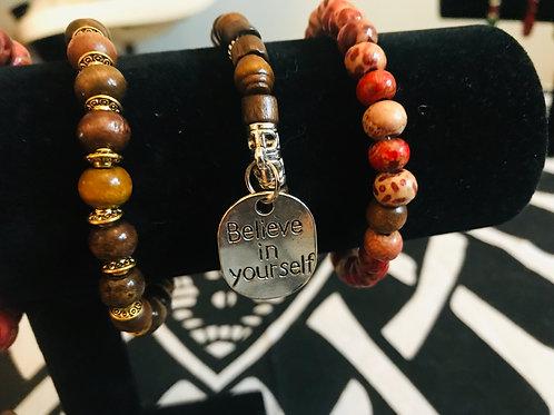 Tagged Beaded Bracelets