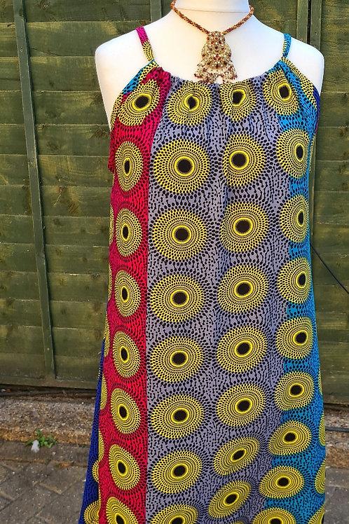 Afro Strap Dress
