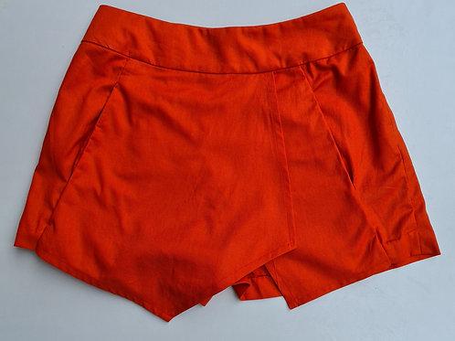 Orange Colour Skorts