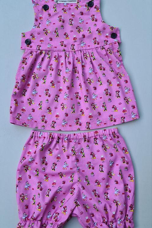 Disney Printed Girl Dress