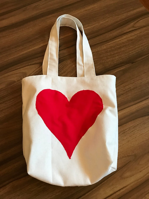 Love Heart Small Tote