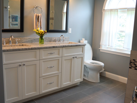 Master bath renovation in Littleton, MA