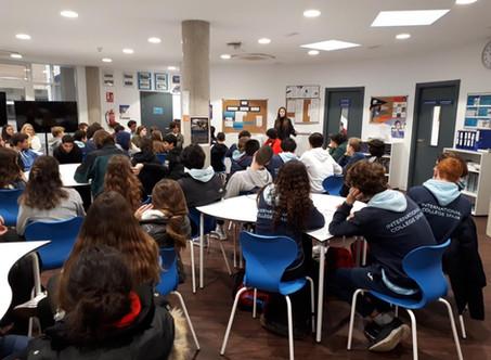 Workshop with highschoolers in Madrid