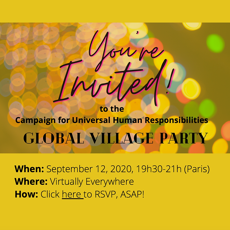 Global Village Party
