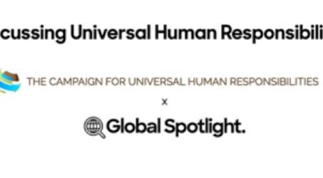 Workshop on Human Responsibilities with Global Spotlight