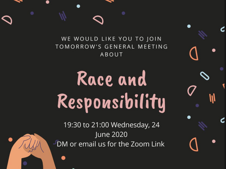Building Community: A Discussion on Race and Responsibility