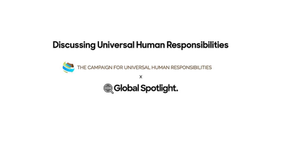 Discussing Universal Human Responsibilities