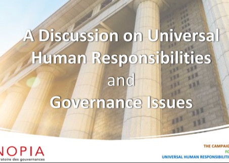 Virtual Workshop: SYNOPIA / The Campaign for Universal Human Responsibilities