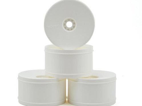 AKA EVO 1/8 Truggy Standard Offset Wheels (4) (White)