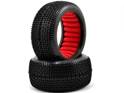 AKA EVO Cityblock 1/8 Truggy Tires (2) (Super Soft)
