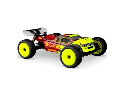 "JConcepts Tekno NT48.3 ""Finnisher"" 1/8 Truggy Body (Clear)"