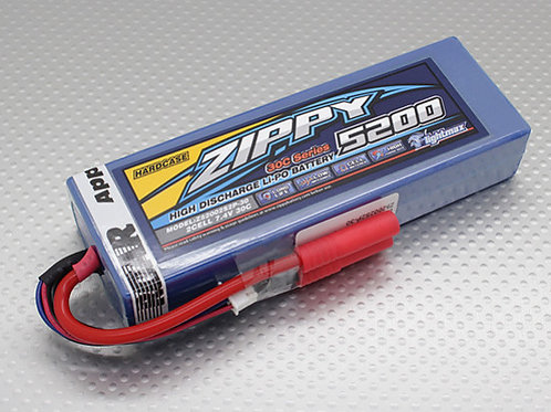 ZIPPY 5200mAh 30C Hardcase Pack (ROAR APPROVED)