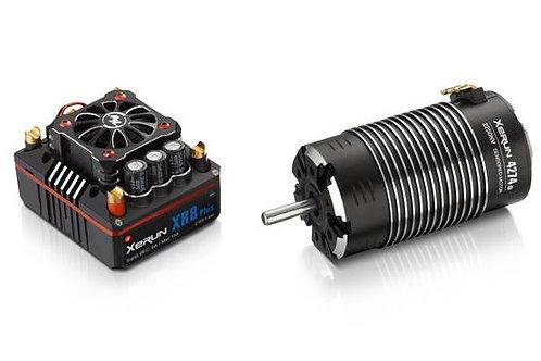 Hobbywing Xerun XR8 Plus sensored 2250kv Motor Combo