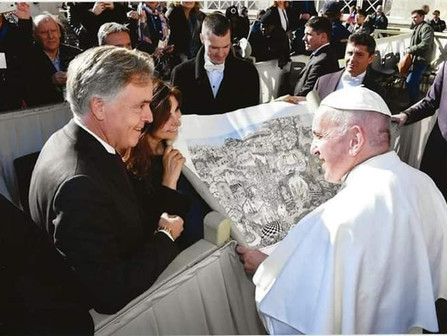 Our present to the Pope Francis