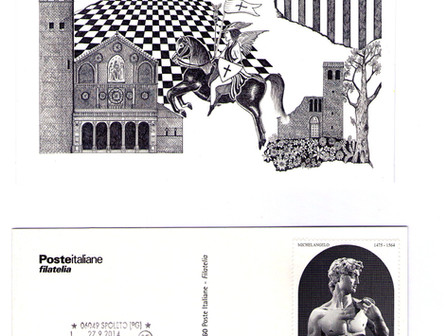 Postmark Design - Annullo filatelico