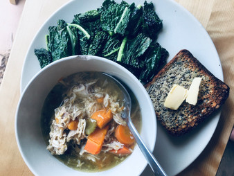 Winter Staple: Slow Cooked, Chicken Soup