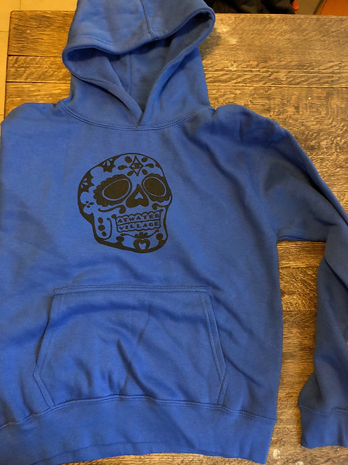 Calaca Hoodie Pullover - Youth
