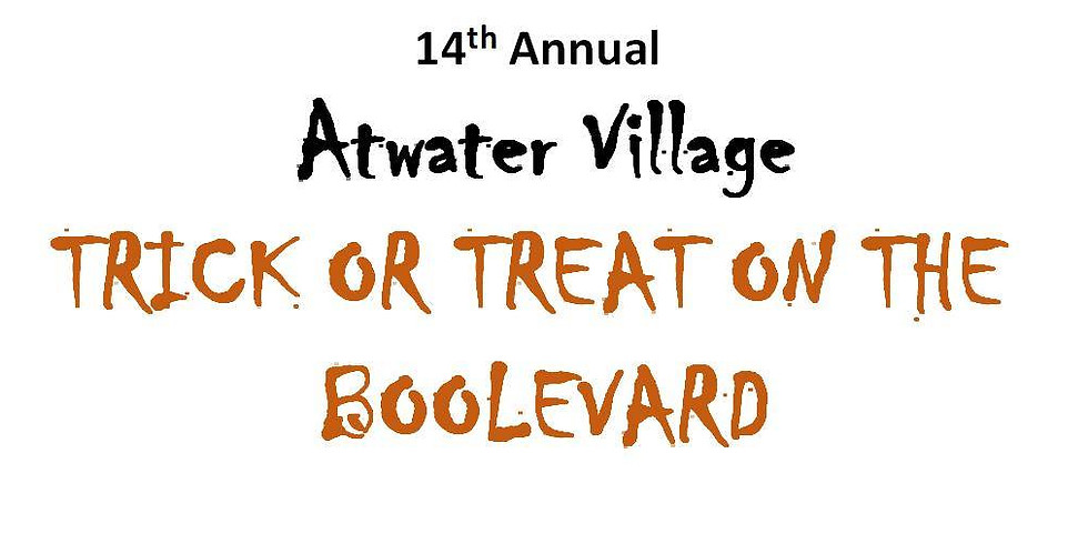 Trick or Treat on the BOOLEVARD!