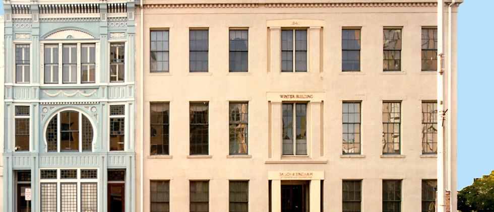 Exterior of Old Hub & Warner.jpg
