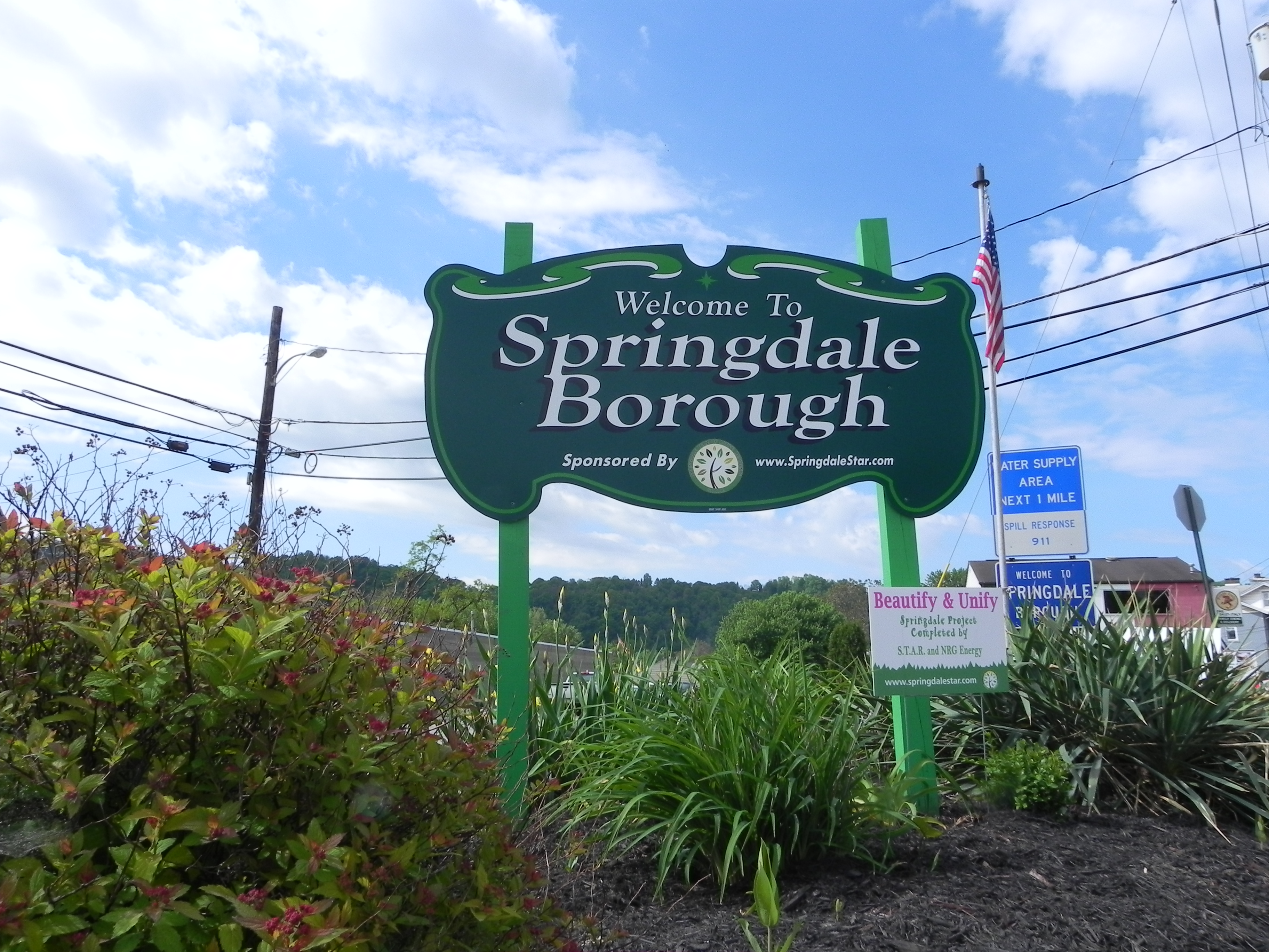 Welcome to Springdale Borough!