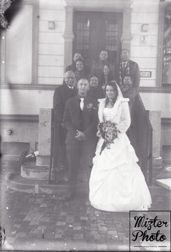 Julia und Nico mit Familie