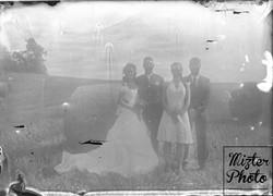 Brautpaar & Trauzeugen - Historisch
