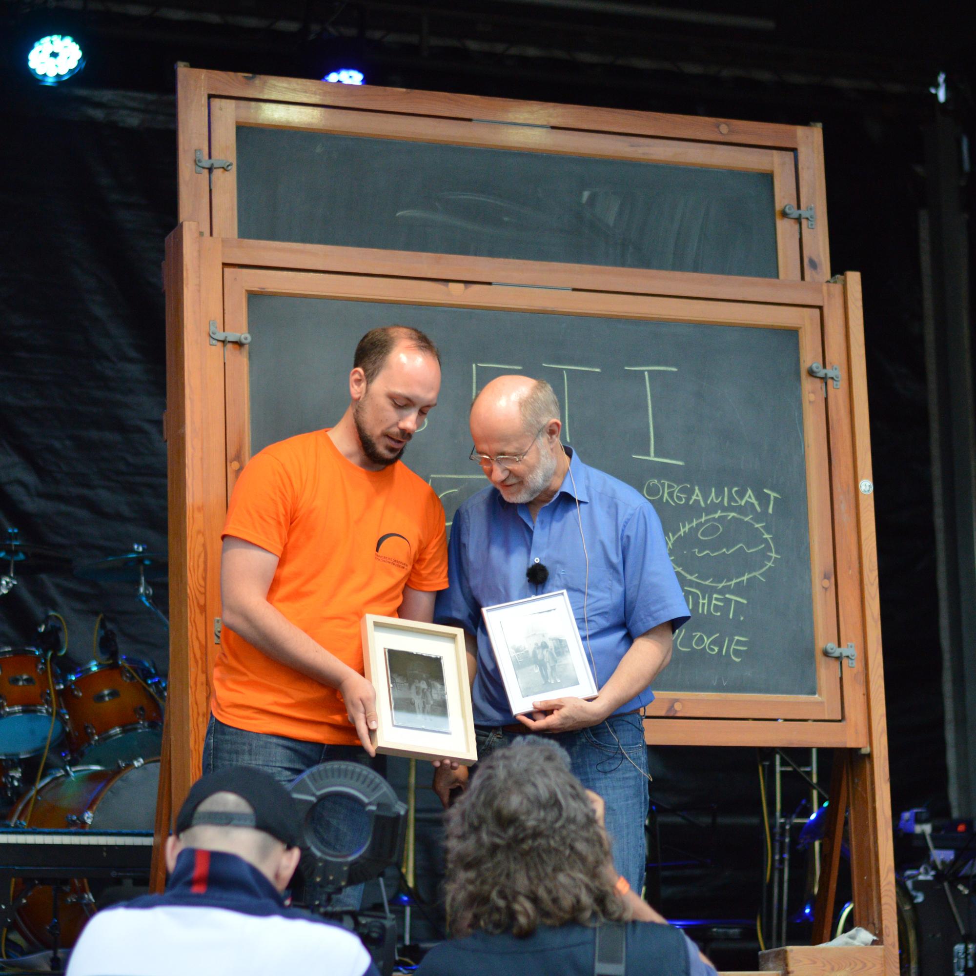 Prof. Harald Lesch und Michael