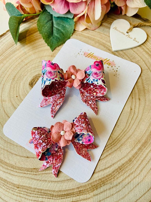 Double Sided Floral Bows