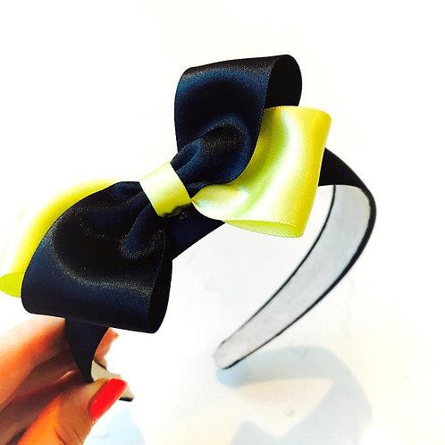 Yellow and Black Headband