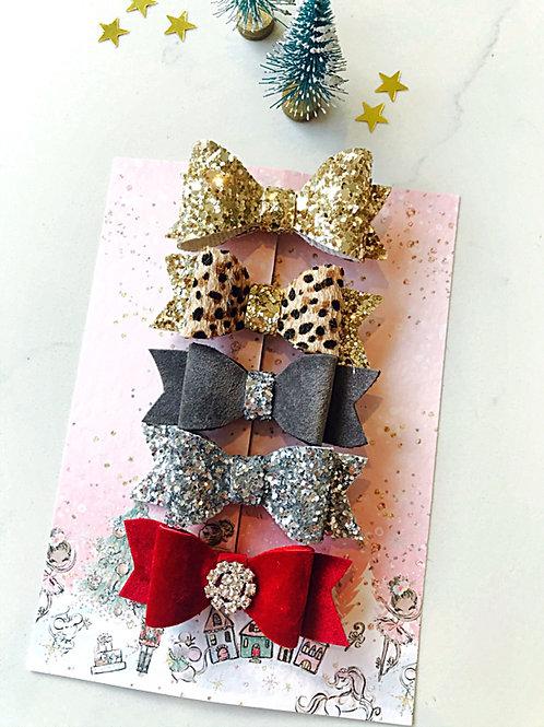 Christmas Mini Bow Collection