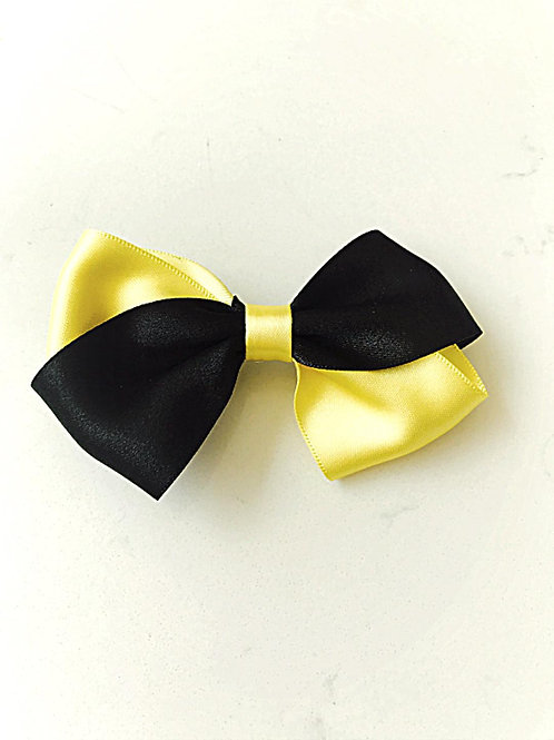 Black and Yellow Bow