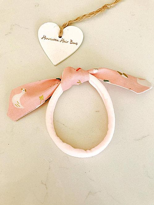 Pink Fabric Bunny Ear Headband