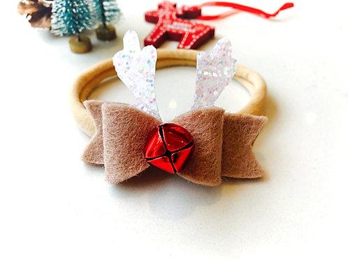 Rudolph Jingle Baby / Toddler Headband