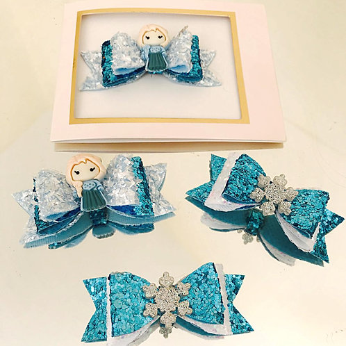 Frozen themed party favours